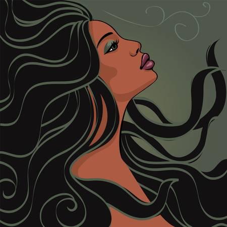 Woman fantasy Иллюстрация