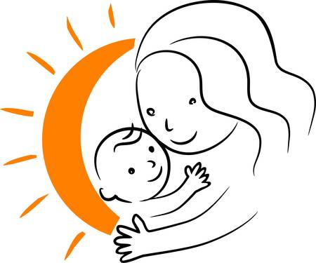 Mother with baby Stock Vector - 11658102