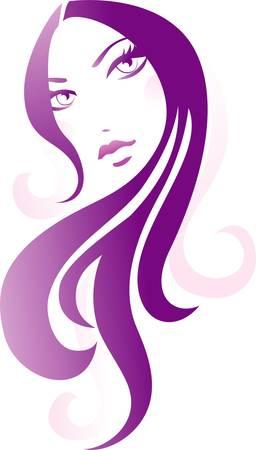 Girl icon Vectores