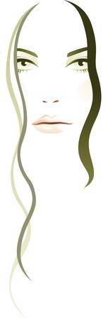 Woman abstract Vector
