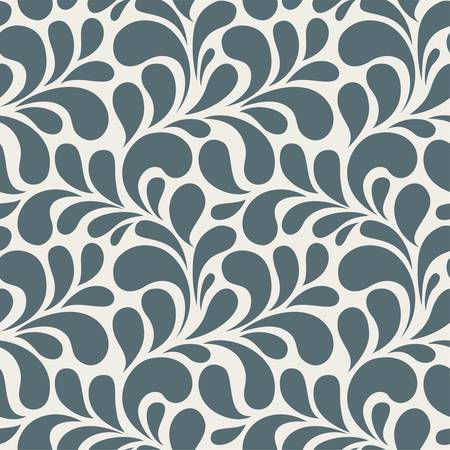 vintage background pattern: Pattern floral Illustration