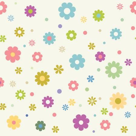 round back: Pattern seamless Illustration