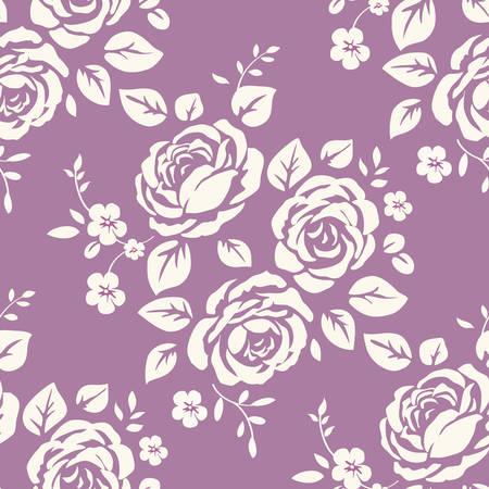 Floral pattern seamless Ilustração