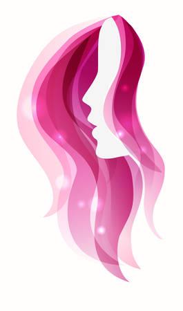Girl icon Иллюстрация