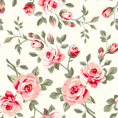 Muster mit Rosen Standard-Bild - 26766486
