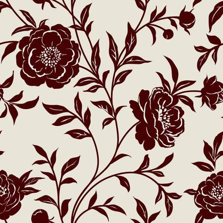 花の壁紙します。  イラスト・ベクター素材