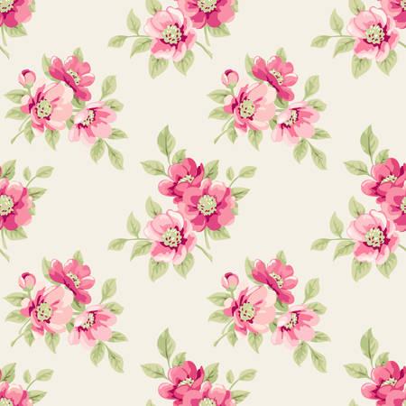 Floral patroon Stock Illustratie