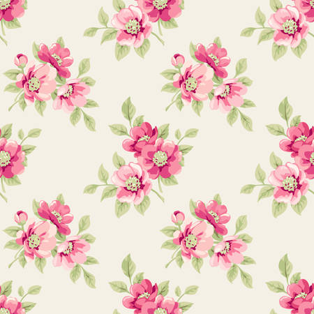romantic: Floral pattern
