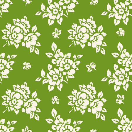 Seamless floral pattern. Spring wallpaper