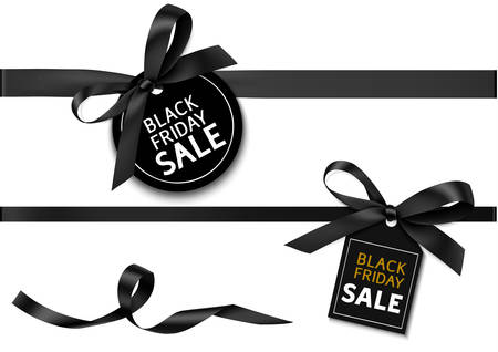 Vector collection for black friday sale decoration
