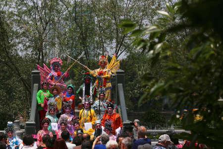 wei: Guangzhou Ren Wei Temple with performance artist