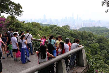 Guangzhou: Scenery at Baiyunshan, Guangzhou Editorial