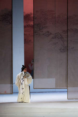 yong: Opera show of Liu Yong on the stage Editorial