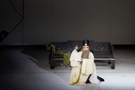 liu: Opera show of Liu Yong on the stage Editorial