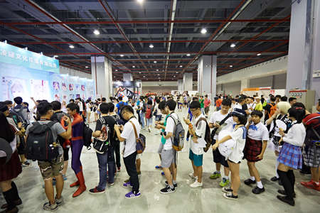 role play: 2015 DL Anime Carnival in Guangzhou, China Editorial