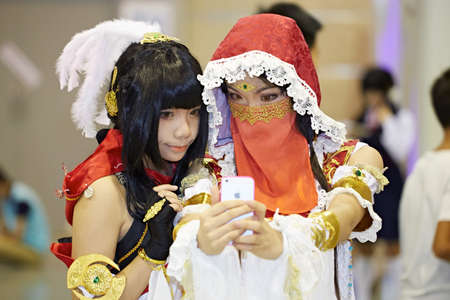role play: DL anime carnival in Guangzhou, China
