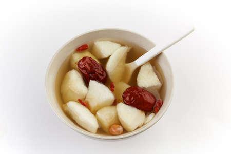 pear syrup dessert