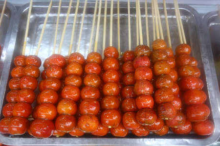 Candied haws