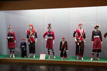 Display of the traditional Panshi costumes