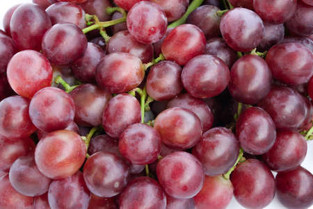 purple red grapes: A grape is a fruiting berry of the deciduous woody vines of the botanical genus Vitis.