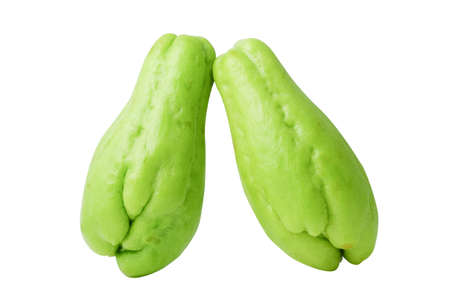 chayote is a member of the squash, i buy from suppermaket photo