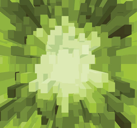 light green background: Abstract bright light green background with square kiwi fruit