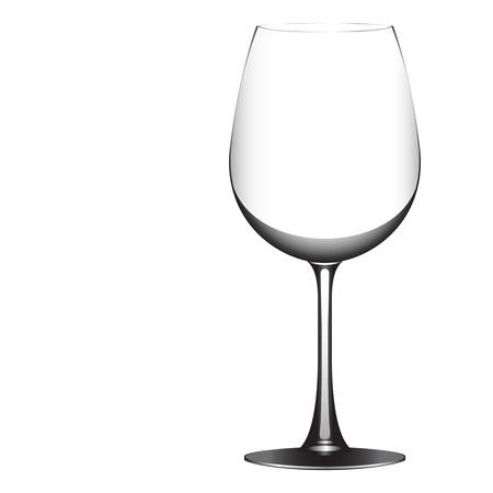 Wineglass vector Çizim