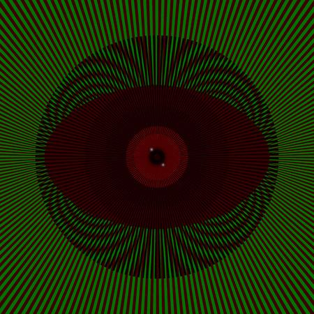 Acid eye Stock Vector - 44438328