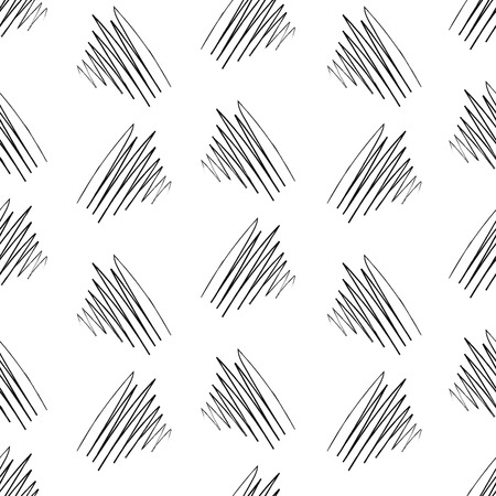 wickerwork: Vector seamless pattern with interweaving of lines. Illustration