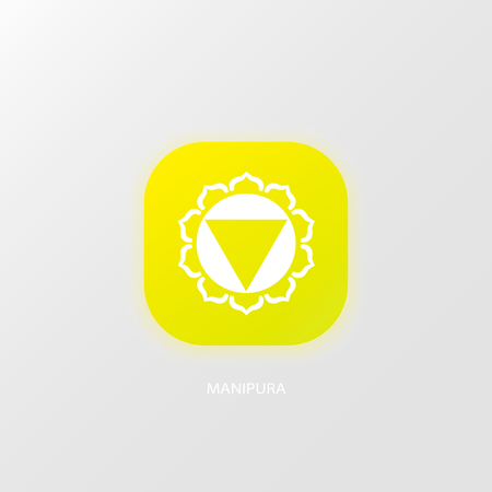 Vector illustration of Color chakra icon design