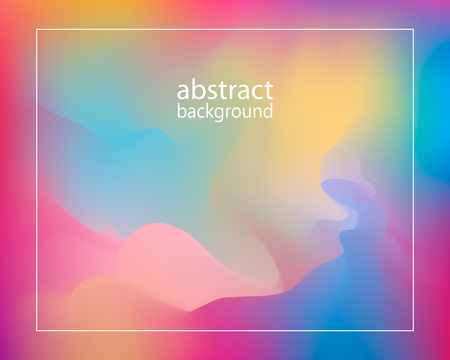 Abstract Creative concept vector multicolored blurred background . For Web and Mobile Applications, art illustration template design, business infographic and social media, modern decoration.