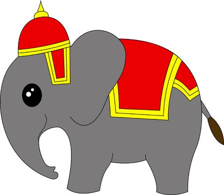 toons: Thailand elephant cartoon