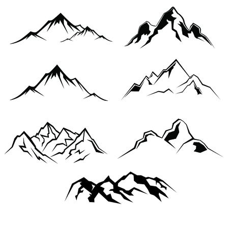 draft: Mountain draft Illustration
