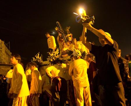 pinoy: Black Nazarene devotees in Mindanao, Philippines