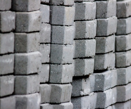 Cement bricks photo