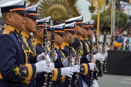 millitary: Philippine Millitary academy cadets