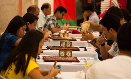 contestant: January 27, 2013: Nationwide Scrabble championship held in Farmers Mall, Manila sponsored by the office of city vice mayor and Unified Scrabble Association in the Philippines. Editorial