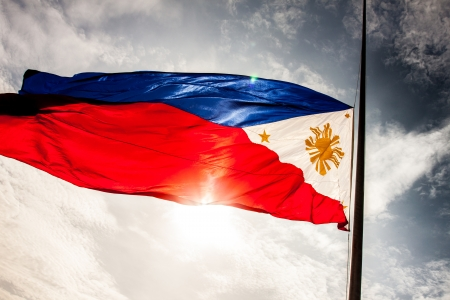 filipina: Bandera nacional de Filipinas