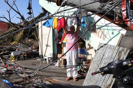 calamity: Tacloban City, Leyte-November 16, 2013  Super typhoon Yolanda  International name  Haiyan  destroyed countless homes, flooded cities and towns and left more than a 4,000 Filipinos dead and 1,100 missing after hitting the country on November 8, 2013  Editorial