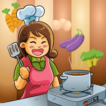 spatula: Mommy Love Cooking