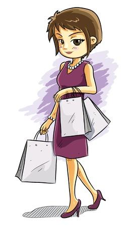 splurge: Shopping Girl