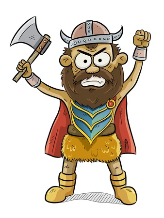 barbarian: Viking Man