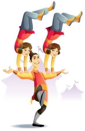 Circus Acrobatic