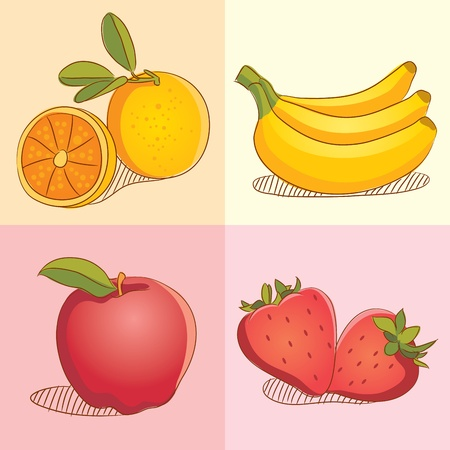 Fruit Collections Vector