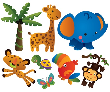 Cute Animal Collection Set