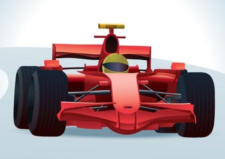 car racing: F1 Racing Car
