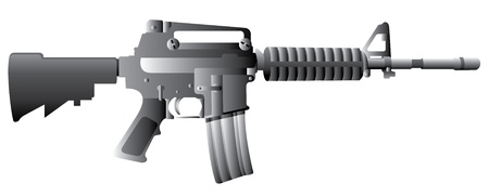 assault rifle: M16 Gun Rifle