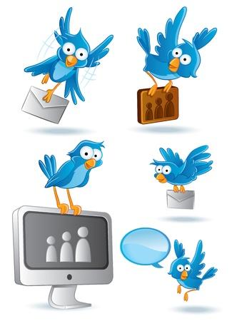 Social Media Network Bluebird