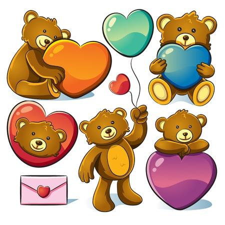 cute bear: Valentine Cute Bear