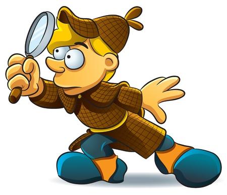 approfondi: Detective enqu�ter Illustration